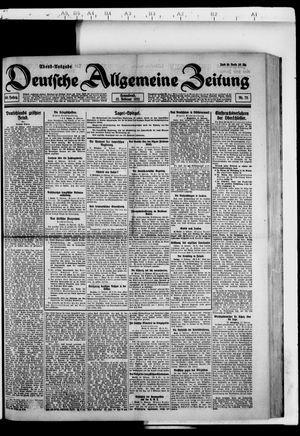 Deutsche allgemeine Zeitung vom 12.02.1921