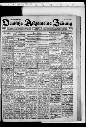Deutsche allgemeine Zeitung vom 13.02.1921