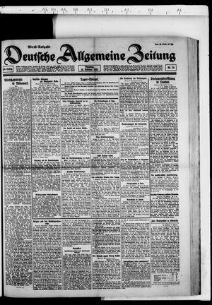 Deutsche allgemeine Zeitung vom 15.02.1921