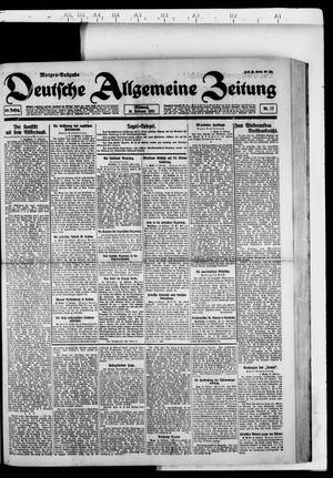 Deutsche allgemeine Zeitung vom 16.02.1921