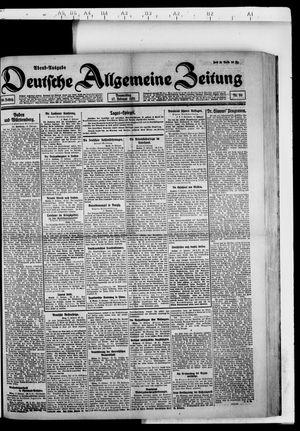 Deutsche allgemeine Zeitung vom 17.02.1921