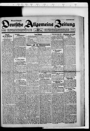 Deutsche allgemeine Zeitung vom 18.02.1921