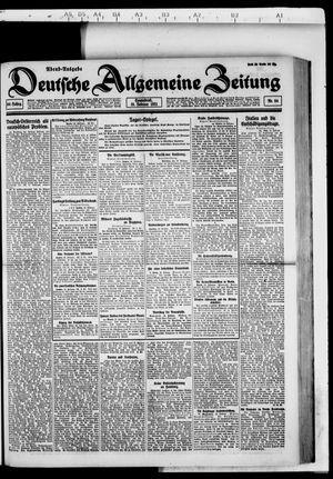 Deutsche allgemeine Zeitung vom 19.02.1921