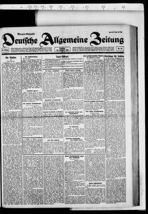 Deutsche allgemeine Zeitung vom 20.02.1921