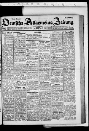 Deutsche allgemeine Zeitung vom 23.02.1921