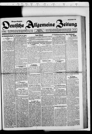 Deutsche allgemeine Zeitung vom 24.02.1921