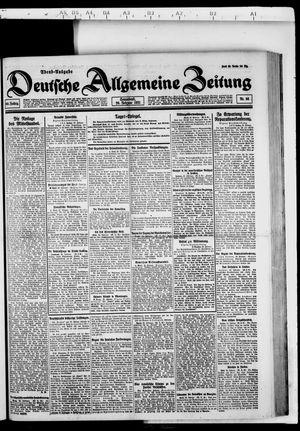 Deutsche allgemeine Zeitung vom 26.02.1921