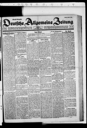 Deutsche allgemeine Zeitung vom 28.02.1921