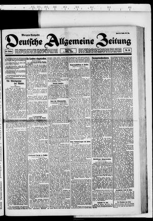 Deutsche allgemeine Zeitung vom 01.03.1921