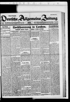 Deutsche allgemeine Zeitung vom 02.03.1921