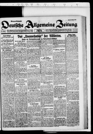 Deutsche allgemeine Zeitung vom 03.03.1921