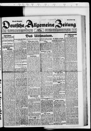 Deutsche allgemeine Zeitung vom 04.03.1921