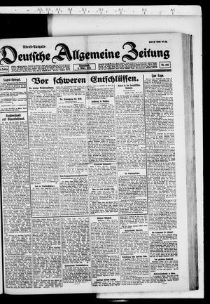 Deutsche allgemeine Zeitung vom 05.03.1921