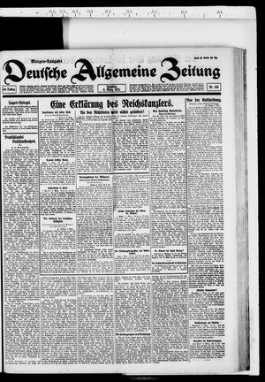 Deutsche allgemeine Zeitung vom 06.03.1921