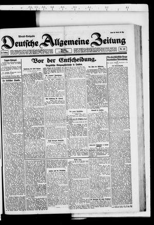 Deutsche allgemeine Zeitung vom 07.03.1921