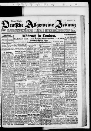 Deutsche allgemeine Zeitung vom 08.03.1921