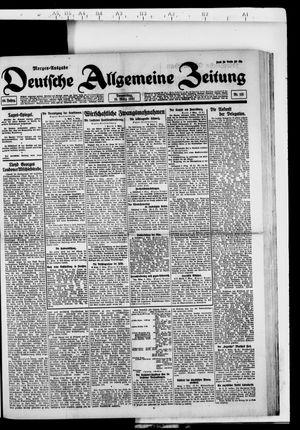 Deutsche allgemeine Zeitung vom 10.03.1921