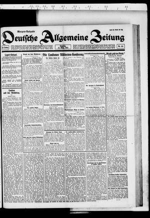 Deutsche allgemeine Zeitung vom 13.03.1921