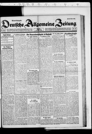 Deutsche allgemeine Zeitung vom 14.03.1921