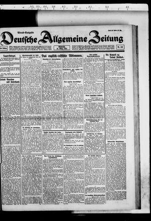 Deutsche allgemeine Zeitung vom 16.03.1921