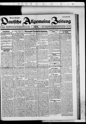 Deutsche allgemeine Zeitung vom 17.03.1921