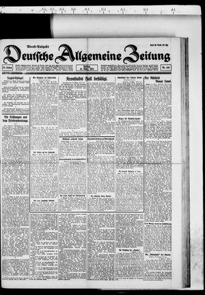 Deutsche allgemeine Zeitung vom 18.03.1921