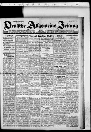 Deutsche allgemeine Zeitung vom 22.03.1921