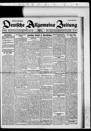 Deutsche allgemeine Zeitung on Mar 23, 1921