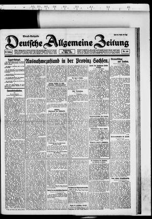 Deutsche allgemeine Zeitung vom 24.03.1921