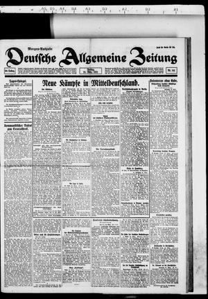 Deutsche allgemeine Zeitung vom 25.03.1921