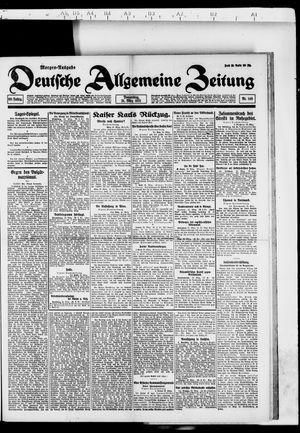 Deutsche allgemeine Zeitung vom 31.03.1921