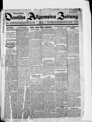 Deutsche allgemeine Zeitung vom 01.04.1921