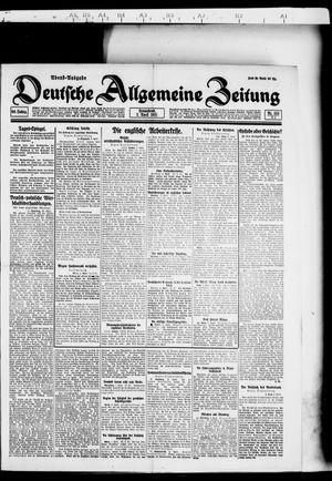 Deutsche allgemeine Zeitung vom 02.04.1921