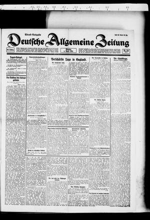 Deutsche allgemeine Zeitung vom 04.04.1921