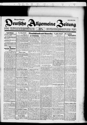 Deutsche allgemeine Zeitung vom 05.04.1921