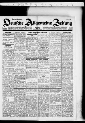 Deutsche allgemeine Zeitung vom 07.04.1921