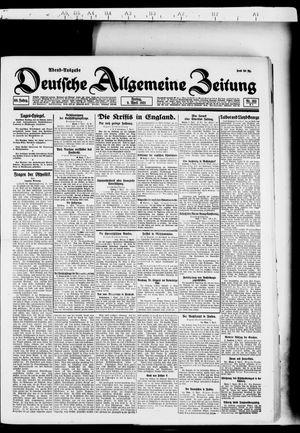 Deutsche allgemeine Zeitung vom 08.04.1921