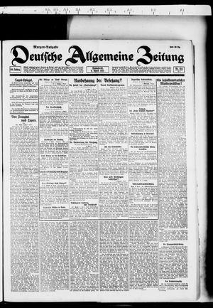 Deutsche allgemeine Zeitung vom 09.04.1921