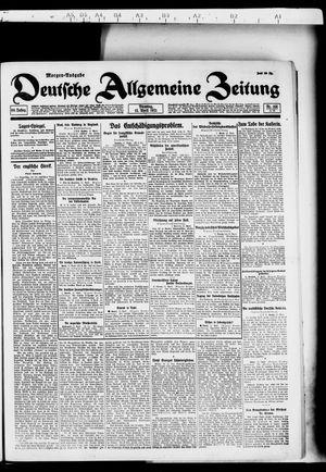 Deutsche allgemeine Zeitung vom 12.04.1921