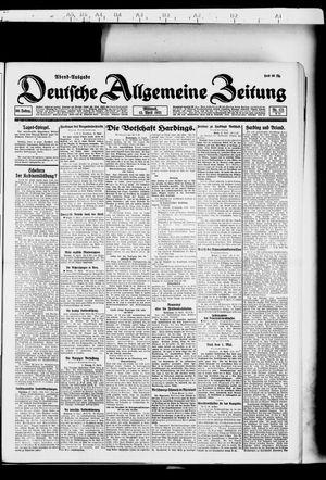 Deutsche allgemeine Zeitung vom 13.04.1921
