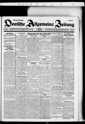 Deutsche allgemeine Zeitung vom 14.04.1921