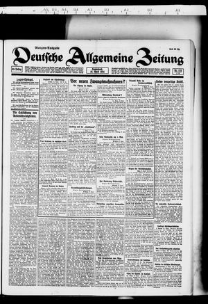 Deutsche allgemeine Zeitung vom 16.04.1921