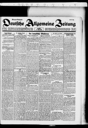 Deutsche allgemeine Zeitung vom 17.04.1921