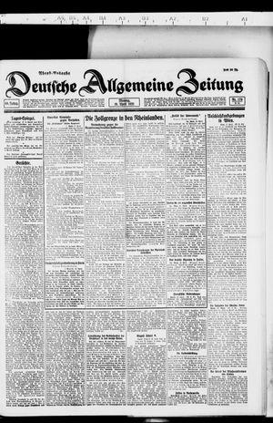 Deutsche allgemeine Zeitung vom 18.04.1921
