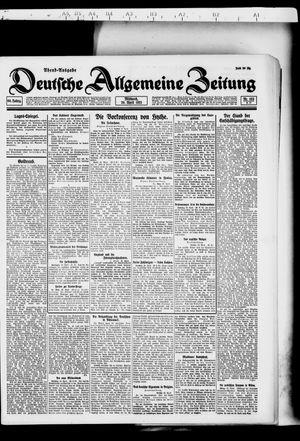 Deutsche allgemeine Zeitung vom 20.04.1921