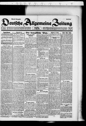 Deutsche allgemeine Zeitung vom 21.04.1921