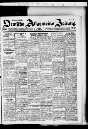 Deutsche allgemeine Zeitung vom 23.04.1921