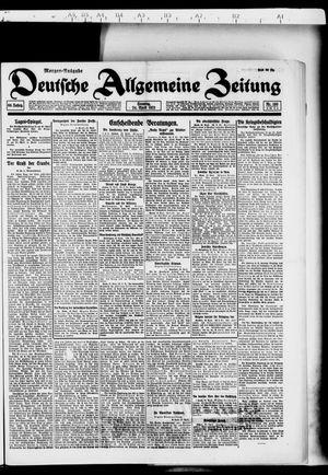 Deutsche allgemeine Zeitung vom 24.04.1921