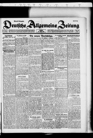 Deutsche allgemeine Zeitung vom 25.04.1921