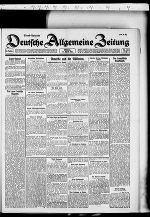Deutsche allgemeine Zeitung vom 27.04.1921